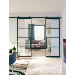 Industrietore aus Metall mit Glas 4D