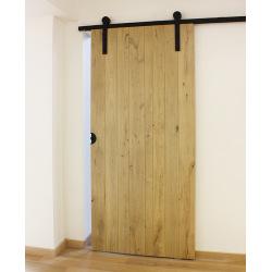 Schiebetürbeschlagsystem Retro Barn 80, für zwei Türen