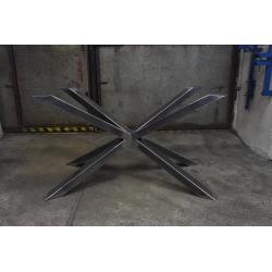 Stahlfuß für Esstisch Typ X 19
